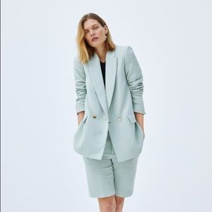 Zara Blazer and Shorts Set